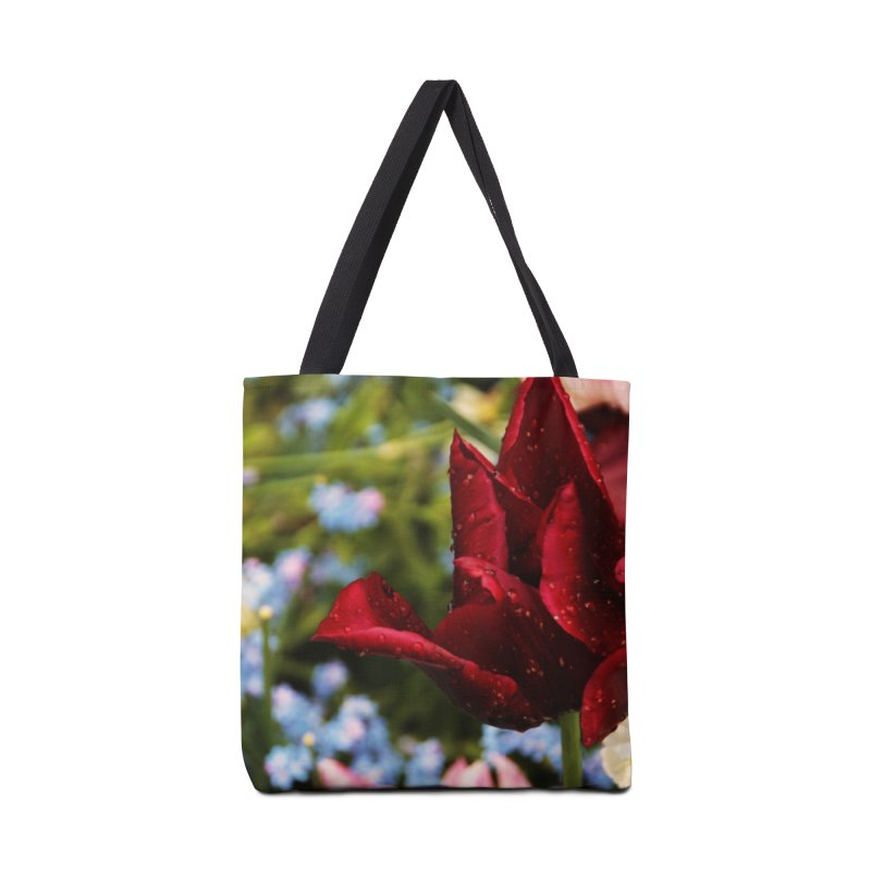Red droplets Accessories Bag by Soulstone's Artist Shop
