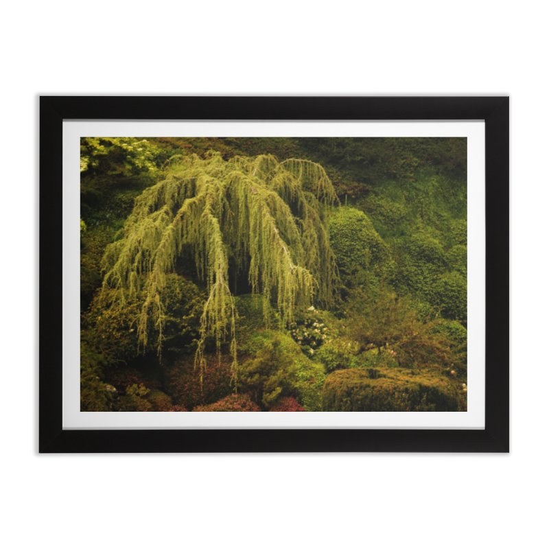 the willow tree Home Framed Fine Art Print by Soulstone's Artist Shop