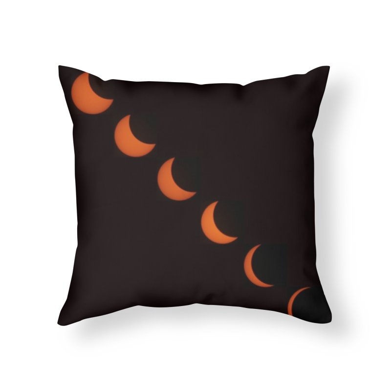 Eclipse 2017 Home Throw Pillow by Soulstone's Artist Shop