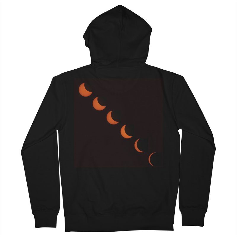 Eclipse 2017 Men's French Terry Zip-Up Hoody by Soulstone's Artist Shop