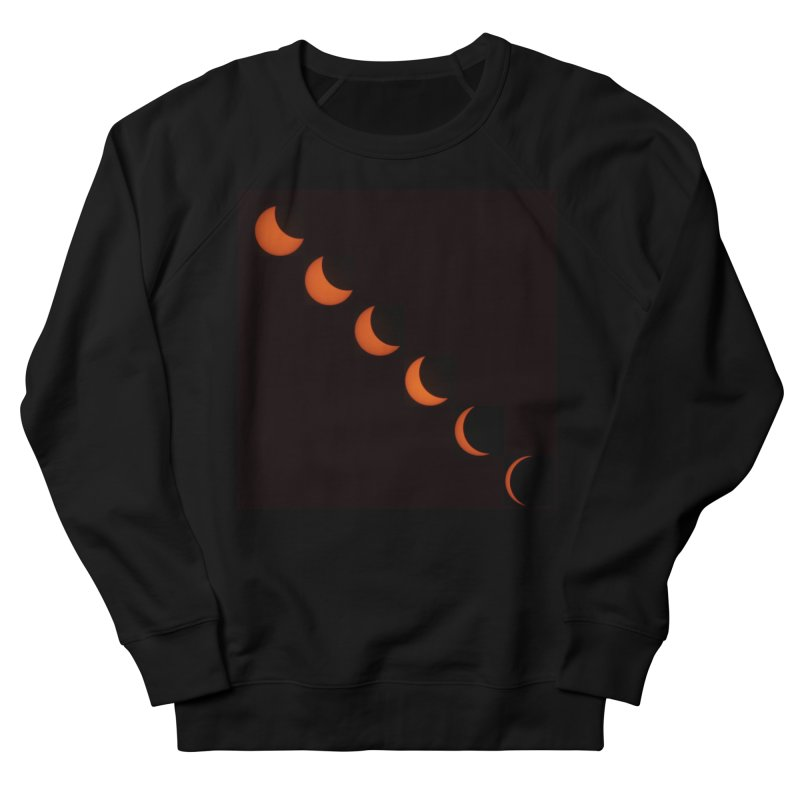 Eclipse 2017 Women's French Terry Sweatshirt by Soulstone's Artist Shop