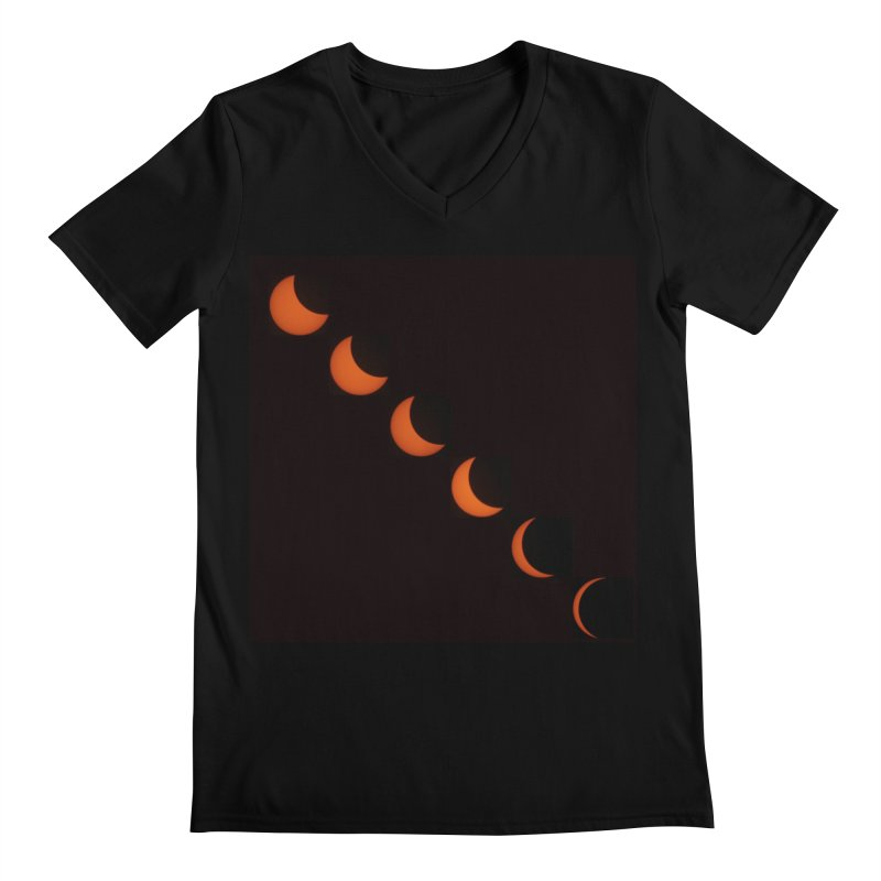 Eclipse 2017 Men's Regular V-Neck by Soulstone's Artist Shop