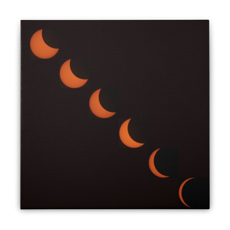 Eclipse 2017 Home Stretched Canvas by Soulstone's Artist Shop