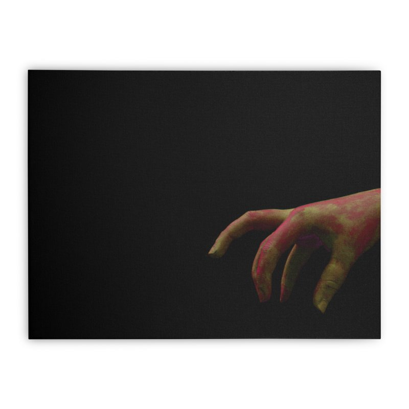 The Hand Home Stretched Canvas by Soulstone's Artist Shop
