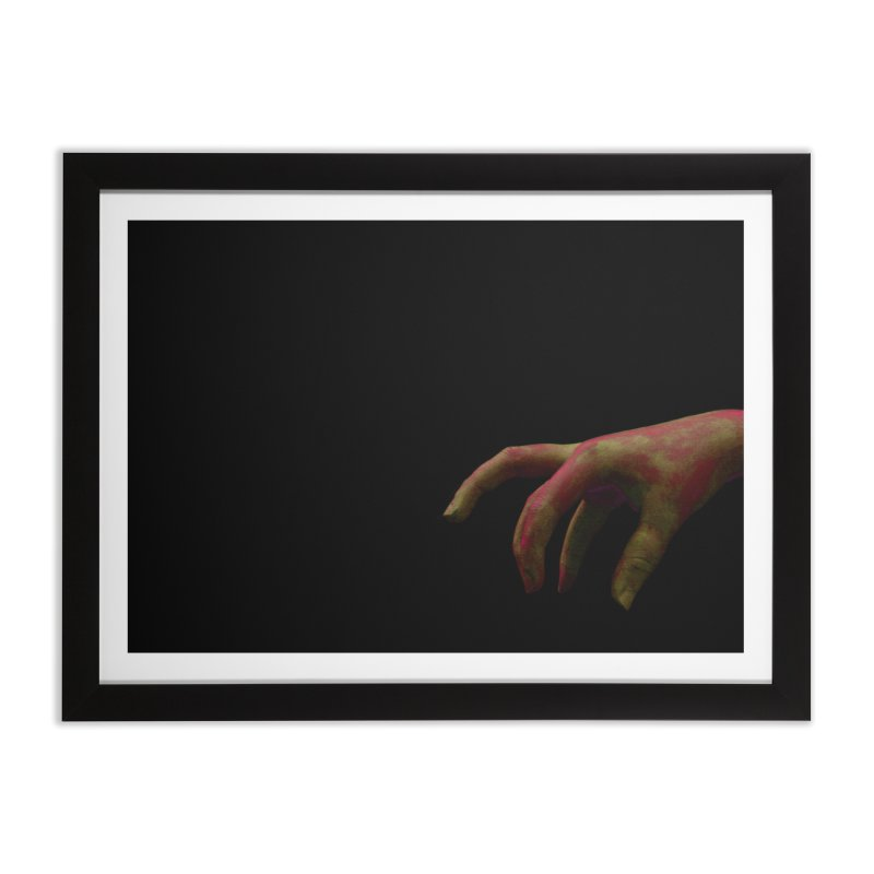 The Hand Home Framed Fine Art Print by Soulstone's Artist Shop