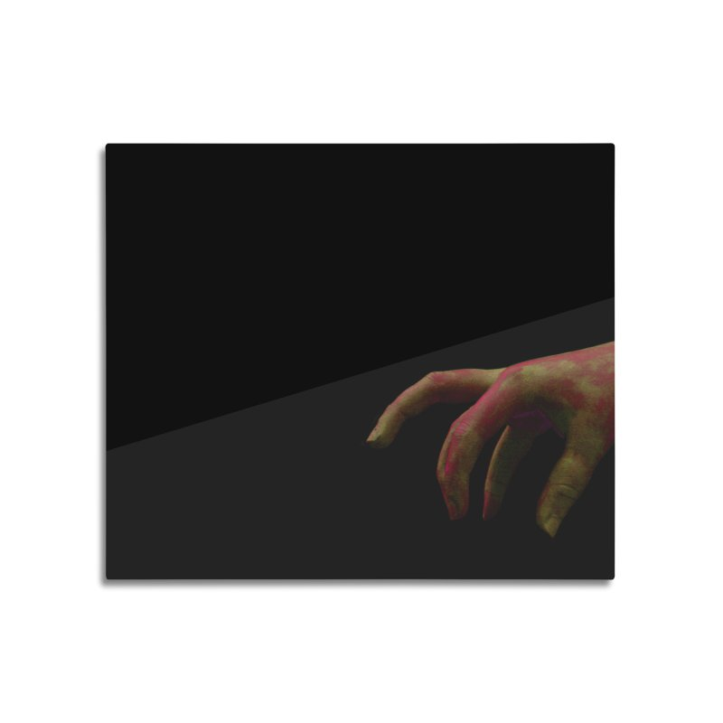 The Hand Home Mounted Aluminum Print by Soulstone's Artist Shop