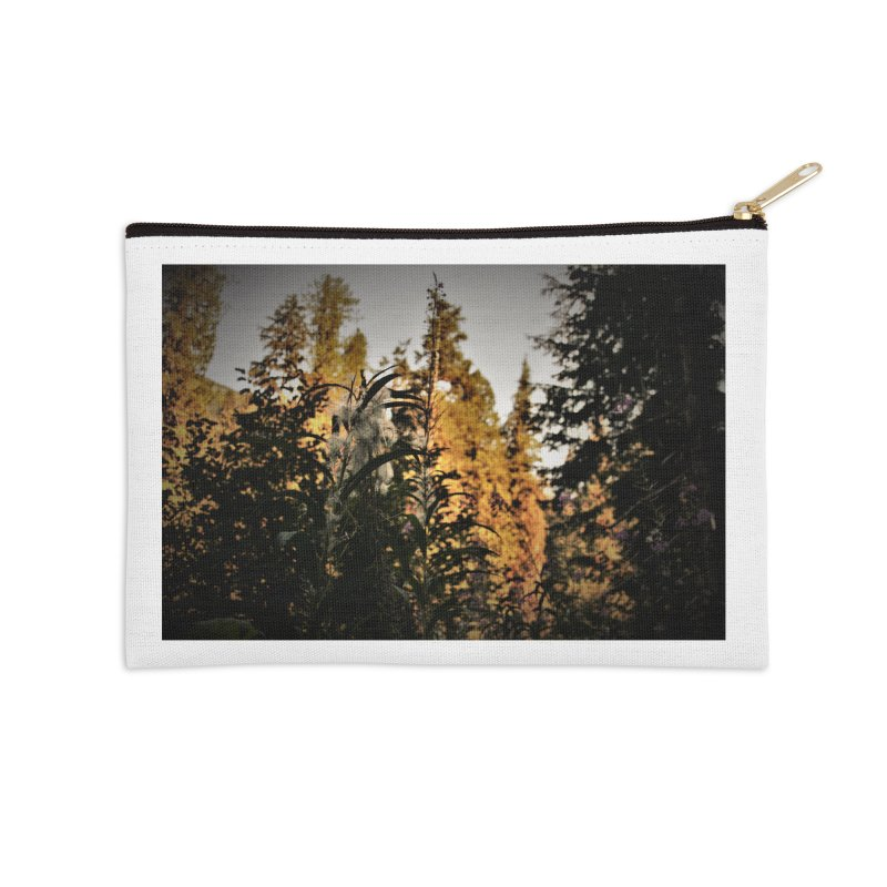 Backlit Fluff Accessories Zip Pouch by Soulstone's Artist Shop