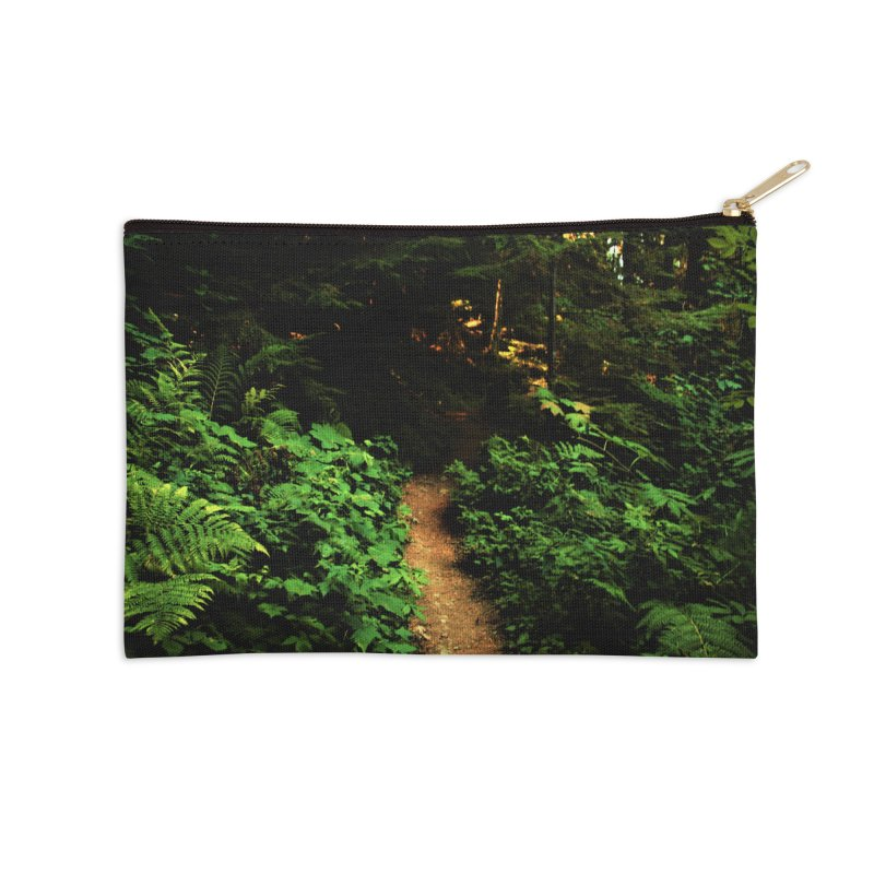 Forest Path Accessories Zip Pouch by Soulstone's Artist Shop