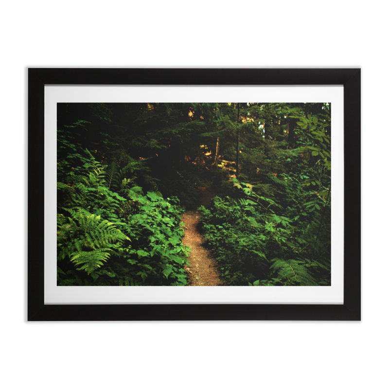 Forest Path Home Framed Fine Art Print by Soulstone's Artist Shop