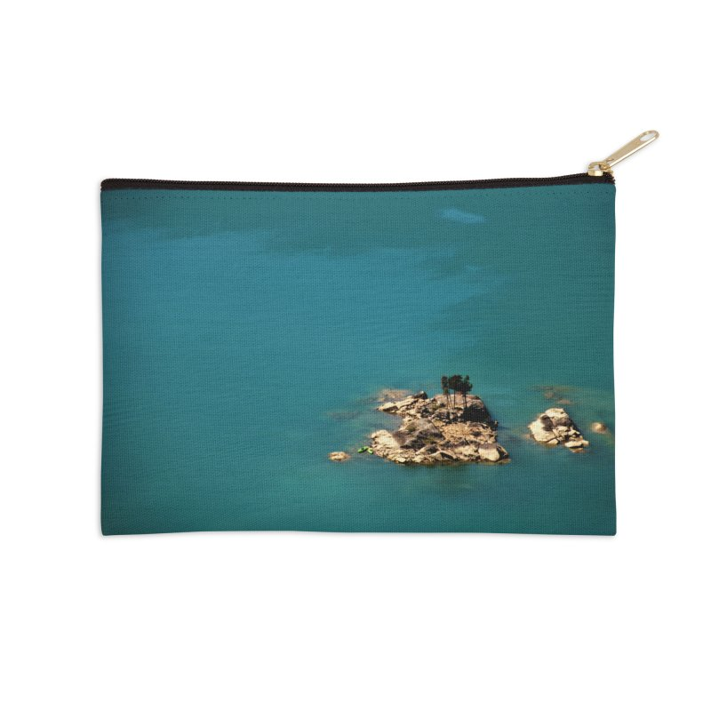 Island Accessories Zip Pouch by Soulstone's Artist Shop