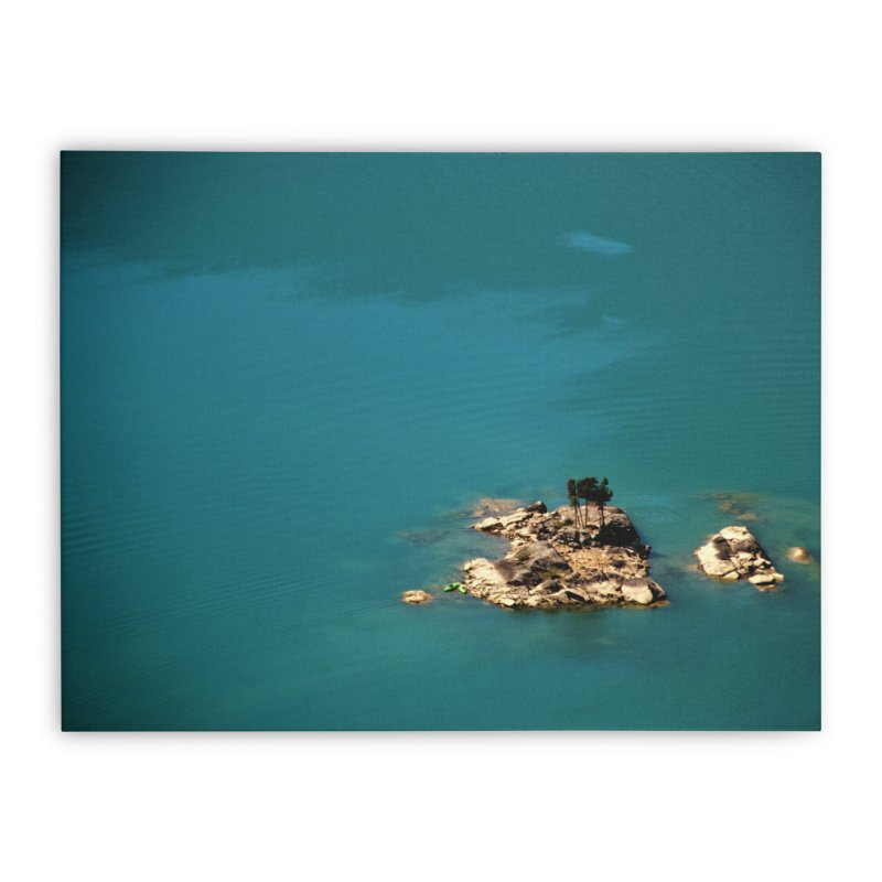 Island Home Stretched Canvas by Soulstone's Artist Shop
