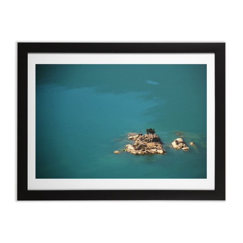 Island Home Framed Fine Art Print by Soulstone's Artist Shop