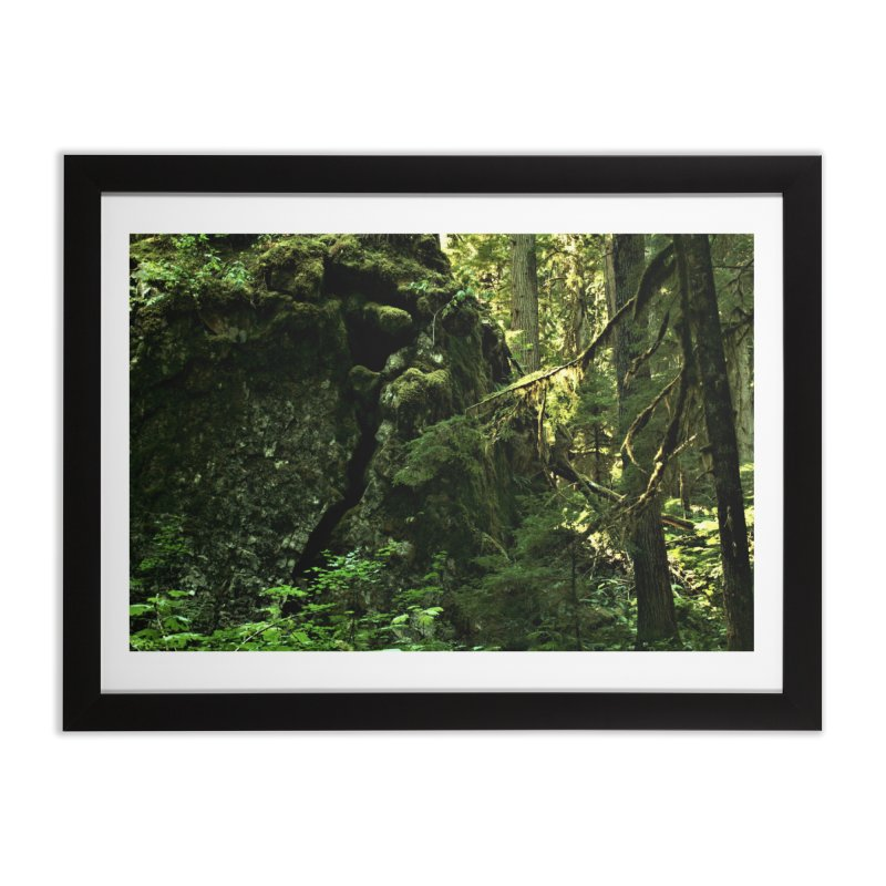Cracked Cave Home Framed Fine Art Print by Soulstone's Artist Shop