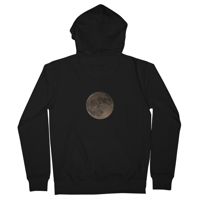 Moon Women's French Terry Zip-Up Hoody by Soulstone's Artist Shop