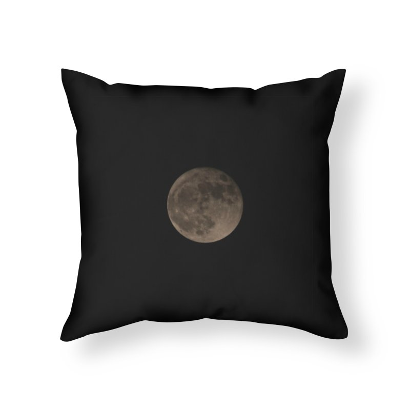 Moon Home Throw Pillow by Soulstone's Artist Shop