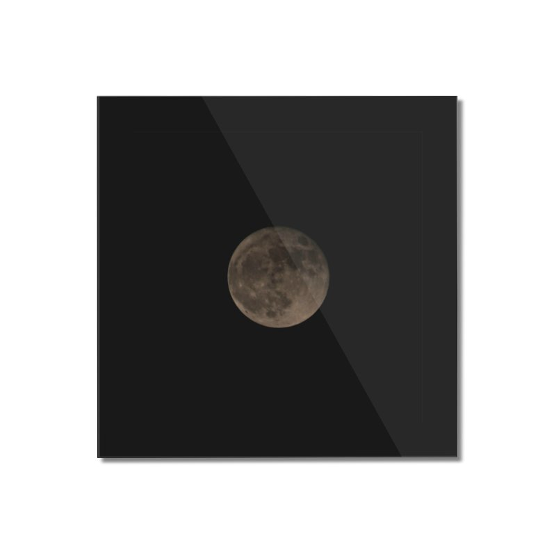 Moon Home Mounted Acrylic Print by Soulstone's Artist Shop