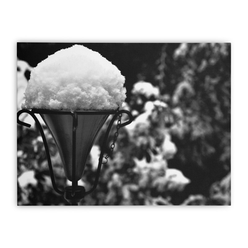 Snow Cone Home Stretched Canvas by Soulstone's Artist Shop