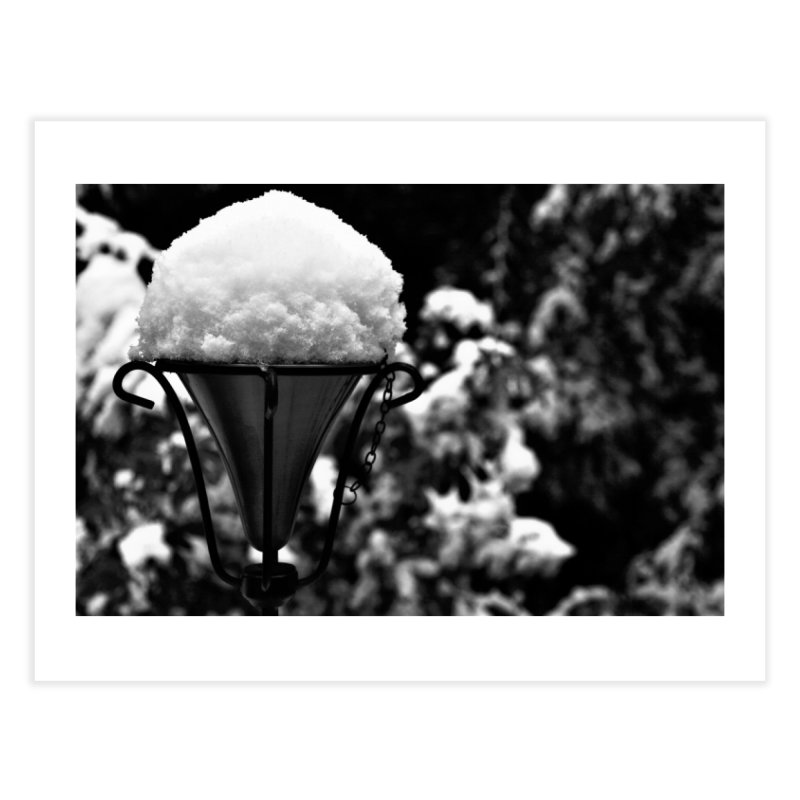 Snow Cone Home Fine Art Print by Soulstone's Artist Shop