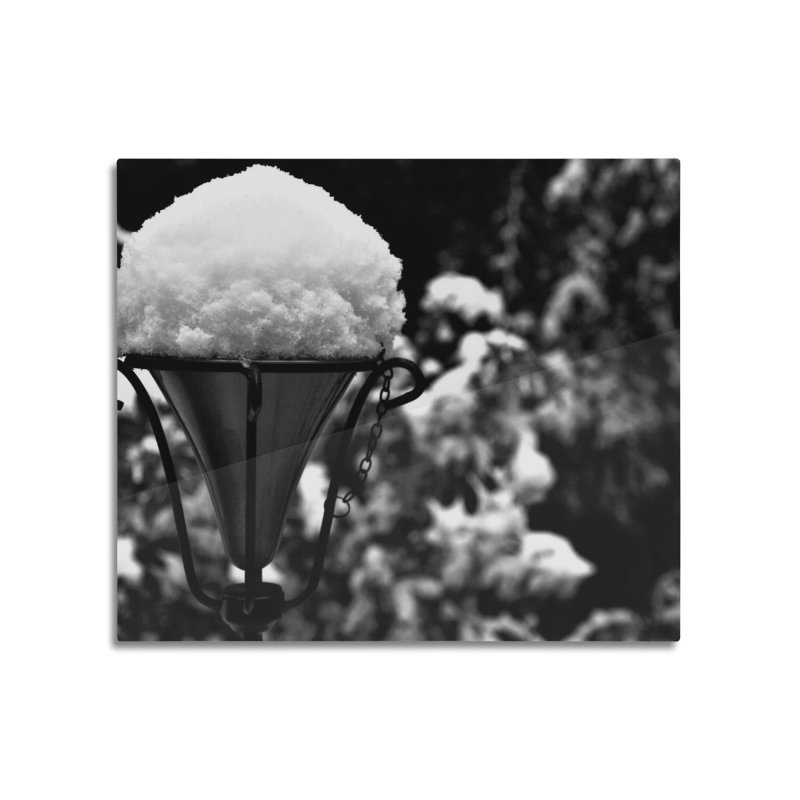 Snow Cone Home Mounted Aluminum Print by Soulstone's Artist Shop