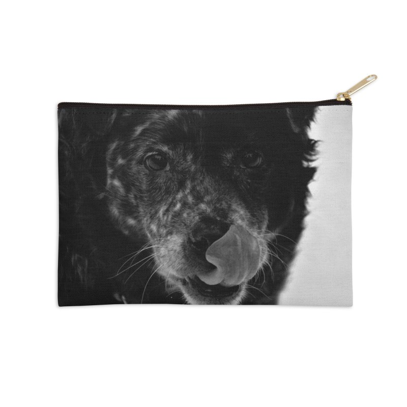 Dog Accessories Zip Pouch by Soulstone's Artist Shop