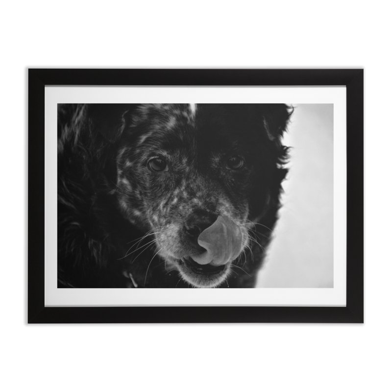 Dog Home Framed Fine Art Print by Soulstone's Artist Shop