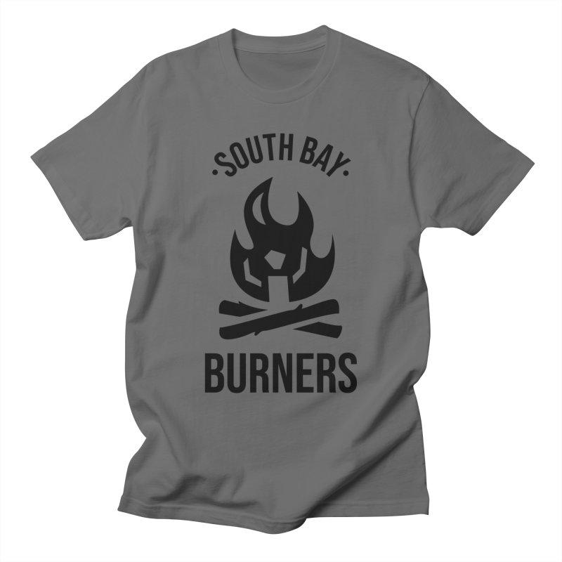 Logo - Black Men's T-Shirt by SouthBayBurners's Artist Shop