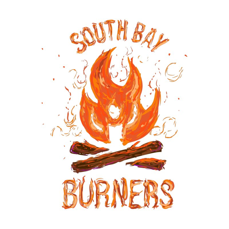 Living Flame Men's T-Shirt by SouthBayBurners's Artist Shop