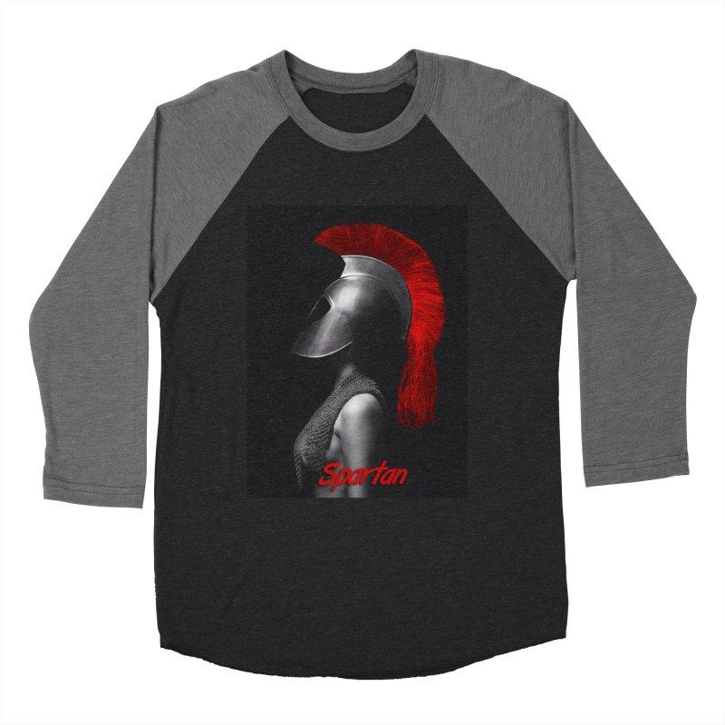Spartan Up Women's Baseball Triblend Longsleeve T-Shirt by Far From Basyc