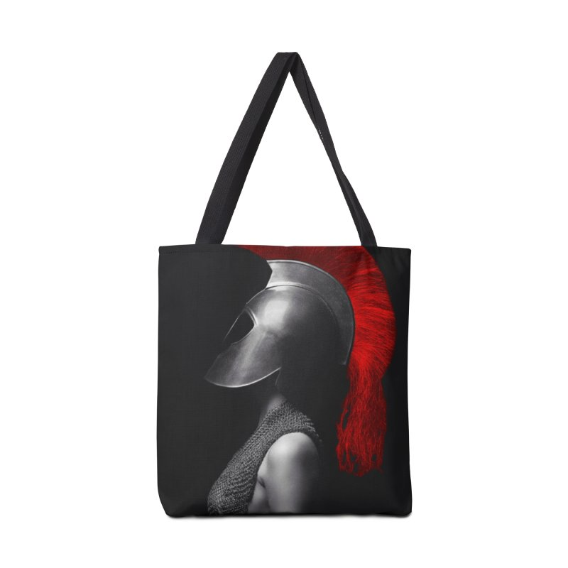Spartan Up Accessories Tote Bag Bag by Far From Basyc
