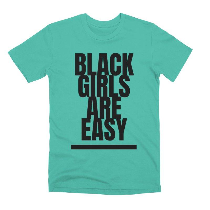 BGAE Black Men's Premium T-Shirt by Far From Basyc