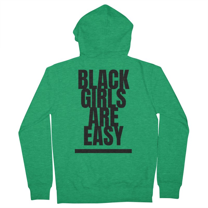 BGAE Black Women's French Terry Zip-Up Hoody by Far From Basyc