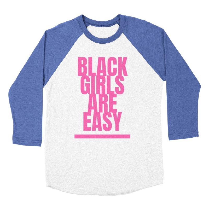 BGAE PInk Women's Baseball Triblend Longsleeve T-Shirt by Far From Basyc