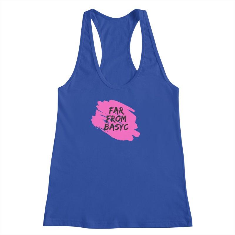 Far From It Pink Women's Racerback Tank by Far From Basyc