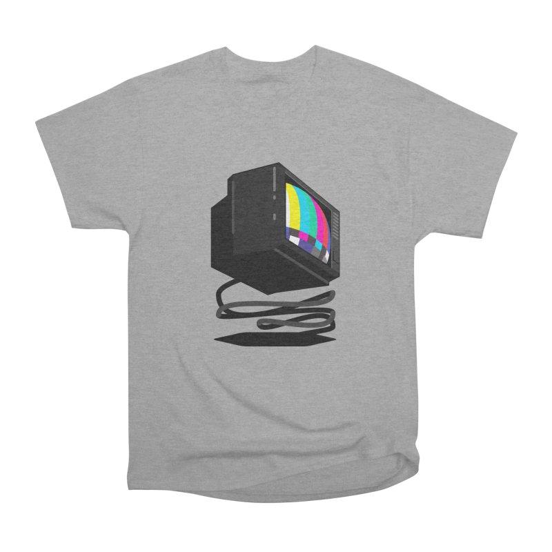 TeeVeeHedron (Error Signal) Men's Heavyweight T-Shirt by Sam Arias