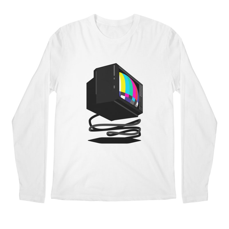 TeeVeeHedron (Error Signal) Men's Longsleeve T-Shirt by Sam Arias