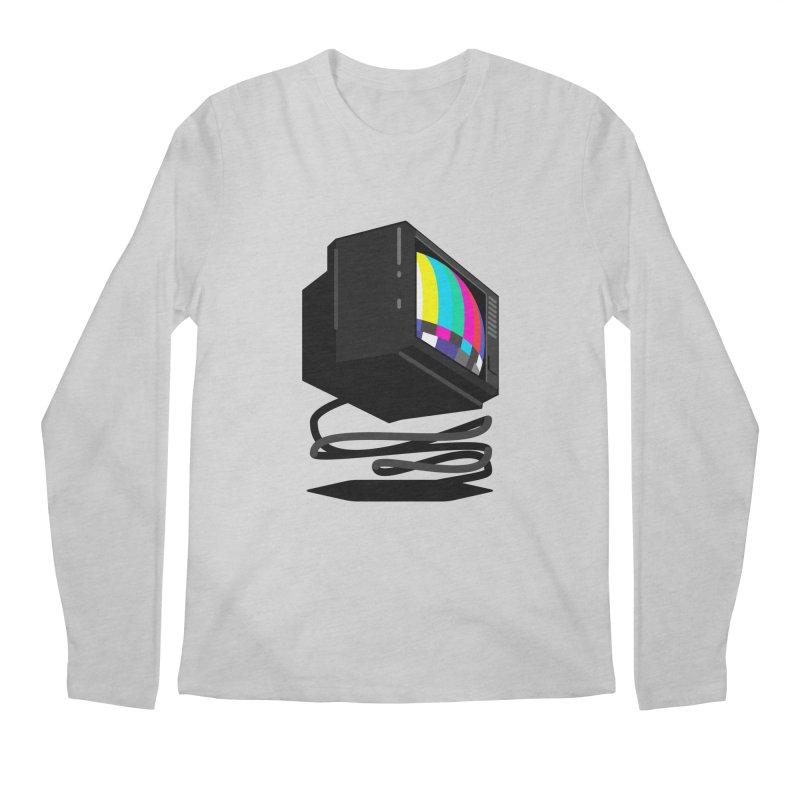 TeeVeeHedron (Error Signal) Men's Longsleeve T-Shirt by Sam Arias