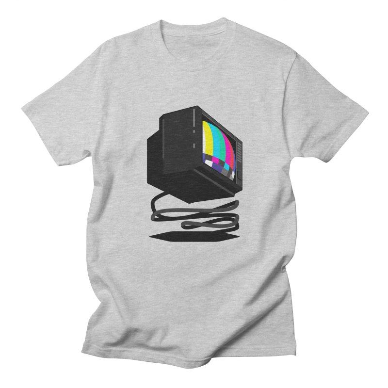 TeeVeeHedron (Error Signal) Men's T-Shirt by Sam Arias