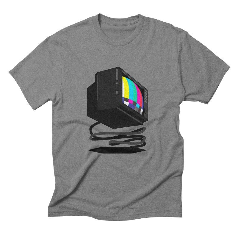 TeeVeeHedron (Error Signal) Men's Triblend T-shirt by Sam Arias