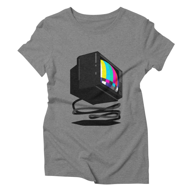 TeeVeeHedron (Error Signal) Women's Triblend T-shirt by Sam Arias