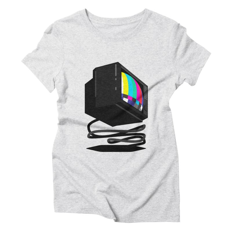 TeeVeeHedron (Error Signal) Women's Triblend T-shirt by Sam Arias