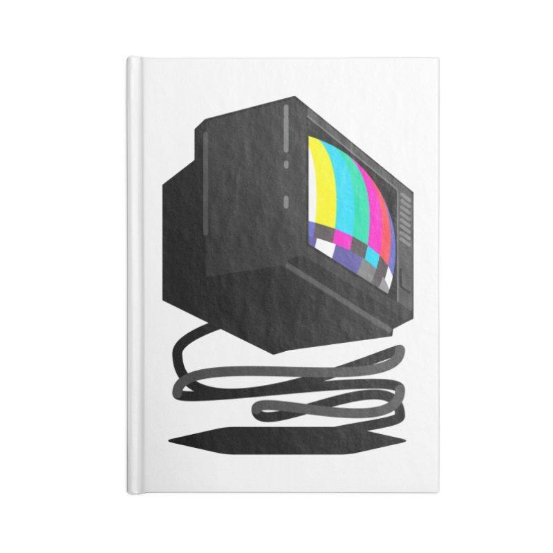 TeeVeeHedron (Error Signal) Accessories Notebook by Sam Arias