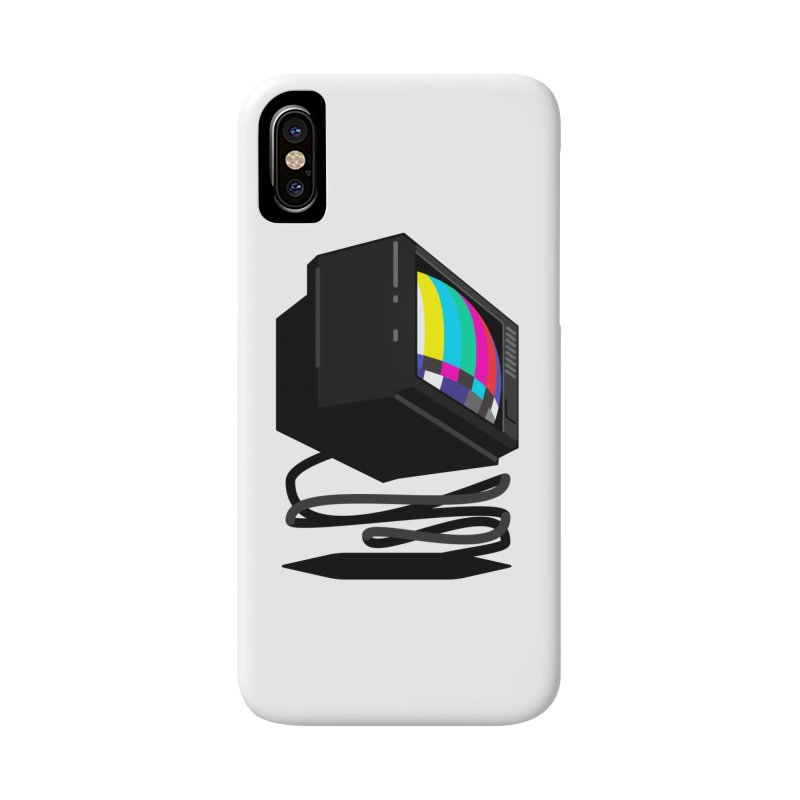 TeeVeeHedron (Error Signal) Accessories Phone Case by Sam Arias