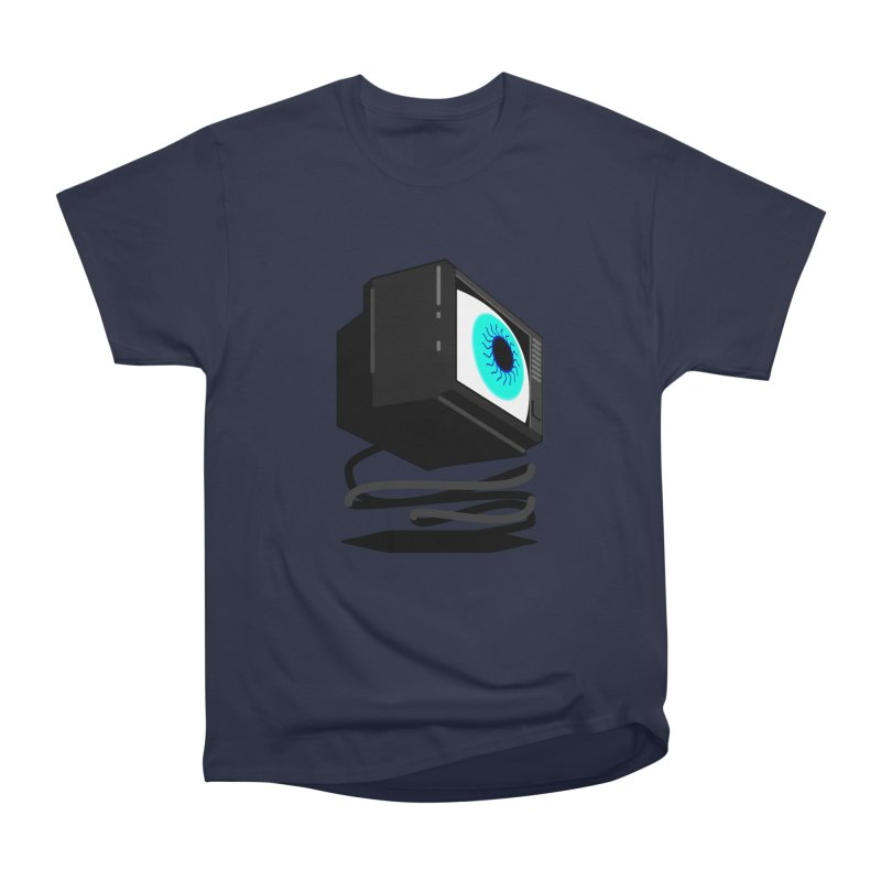 TeeVeeHedron (Staring) Men's Classic T-Shirt by Sam Arias