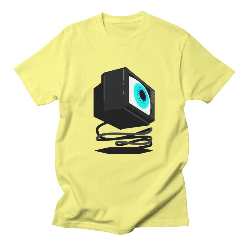 TeeVeeHedron (Staring) Men's T-Shirt by Sam Arias