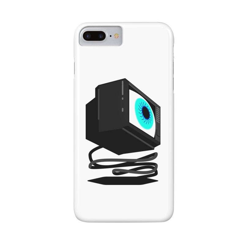 TeeVeeHedron (Staring) Accessories Phone Case by Sam Arias