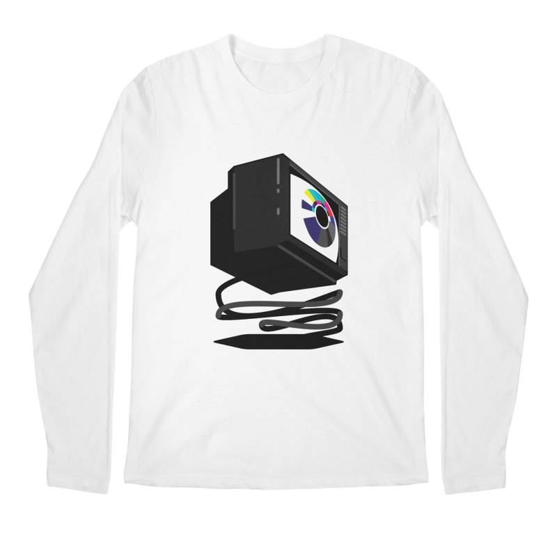 TeeVeeHedron (Blinding) Men's Longsleeve T-Shirt by Sam Arias