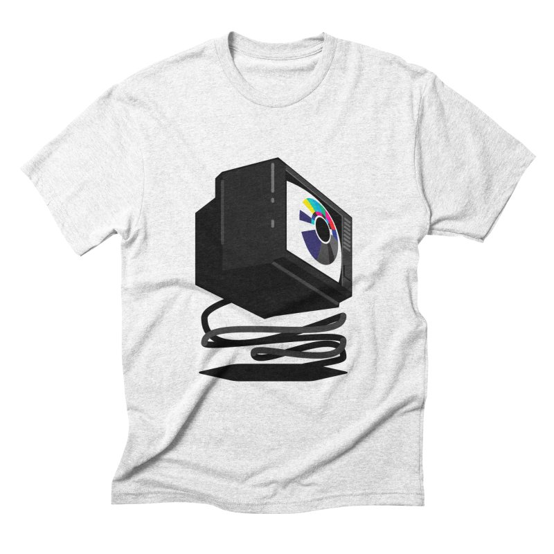 TeeVeeHedron (Blinding) Men's Triblend T-shirt by Sam Arias