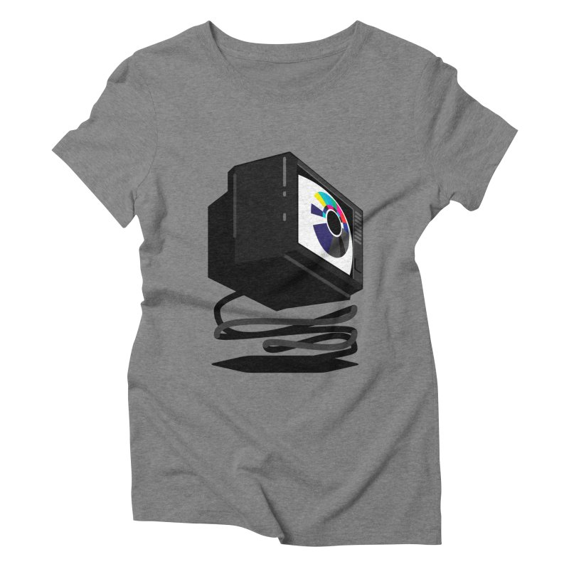 TeeVeeHedron (Blinding) Women's Triblend T-shirt by Sam Arias