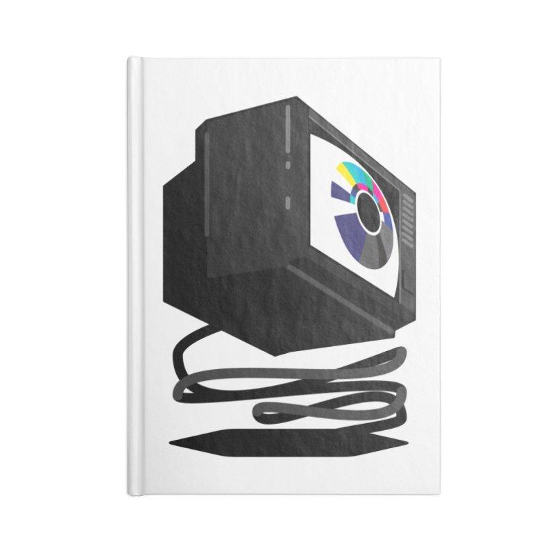TeeVeeHedron (Blinding) Accessories Notebook by Sam Arias