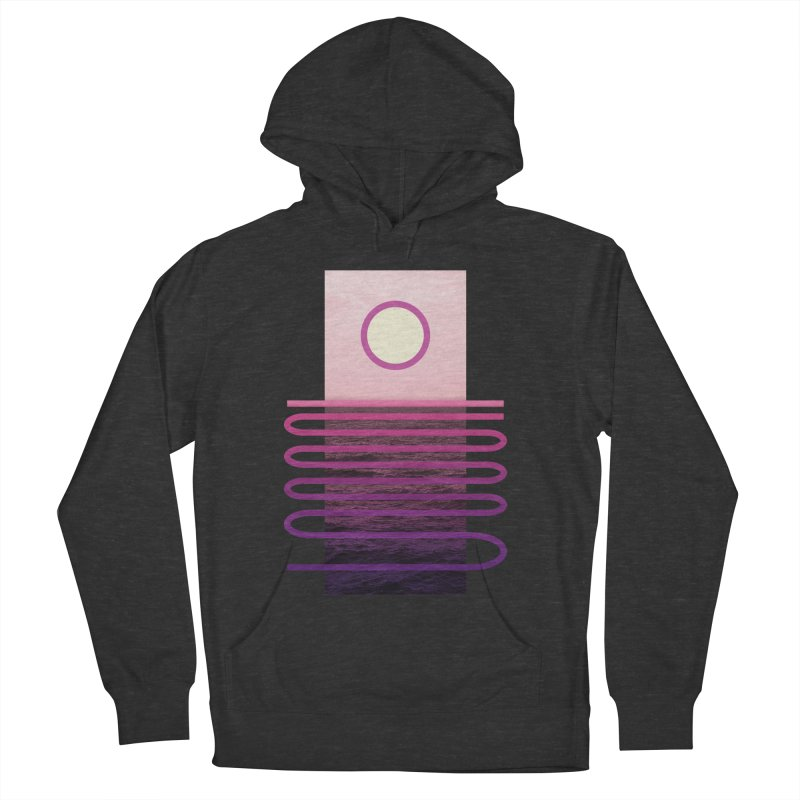 Sunset At Sea Men's Pullover Hoody by Sam Arias